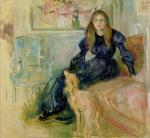 Berthe Morisot Julie Manet and Her Greyhound Laerte 1893 Marmottan Paris