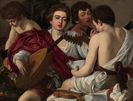 Caravaggio The Musicians ca 1594 95 Metropolitan Museum of Art New York
