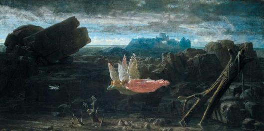 Charles Gleyre The Deluge Le Déluge 1856 Musée cantonal des Beaux-Arts de Lausanne