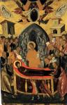 circle of Andreas Ritzos Dormition of the Virgin 1480 90 Hellenic Institute of Byzantine and Post-Byzantine Studies Venice