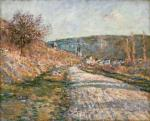 Claude Monet The Road to Vétheuil 1879 The Phillips Collection Washington