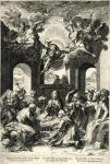 Cornelis Cort after Taddeo Zuccari Adoration of the Shepherds 1567 engraving