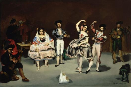 Edouard Manet The Spanish Ballet 1862 The Phillips Collection Washington