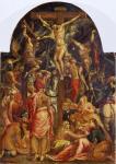El Greco Altarpiece Crucifixion 1568 69 Fondazione Cassa di Risparmio loan Pinacoteca Nazionale Ferrara