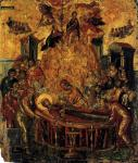 El Greco Dormitio Verginis Dormition of the Mother of God 1567 Cathedral of the Dormition Ermoupolis