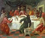 El Greco Last Supper 1568 70 Pinacoteca Nazionale Bologna