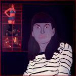 Ewa Kuryluk Striped Blouse Bluzka w paski 1975 artist