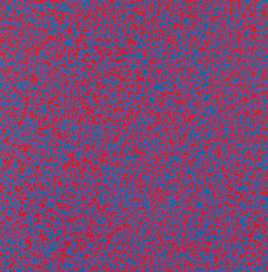 François Morellet Random Distribution of 40,000 Squares using the Odd and Even Numbers of a Telephone Directory 1960