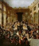 Johann Carl Auerbach Court Banquet to celebrate the Engagement of Archduchess Marie Christine to Prince Albert of Saxony 1766 1773 KHM Vienna