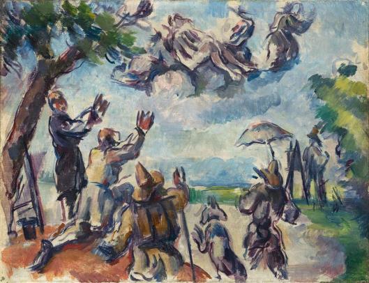 Paul Cézanne Apotheosis of Delacroix 1890 94 Musée d'Orsay Paris loan Musée Granet Aix-en-Provence
