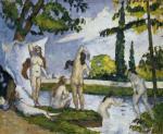 Paul Cézanne Bathers 1874 Met New York