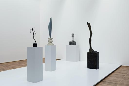 Sculpture on the Move exhibition view Kunstmuseum Basel'