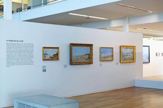 Eugène Boudin. Craftsman in Light exhibition view Musée d'art moderne André Malraux MuMa Le Havre