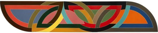 Frank Stella Damascus Gate (Stretch Variation I) 1970