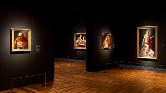Georges de La Tour exhibition view Museo Nacional del Prado Madrid