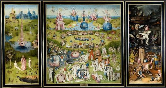 Hieronymus Bosch The Garden of Earthly Delights 1490 1505 Prado Madrid
