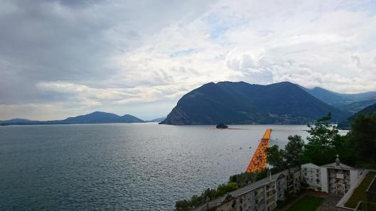 Christo and Jeanne-Claude Project for Lake Iseo The Floating Piers artdone