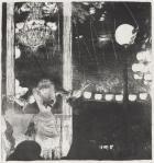 Edgar Degas Mademoiselle Becat at the Cafe des Ambassadeurs ca 1877 lithograph