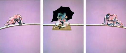 Francis Bacon Triptych - Studies of the Human Body 1970 priv coll