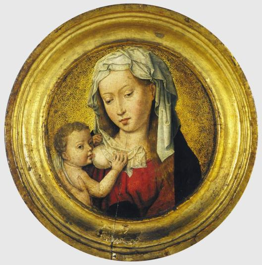 Hans Memling Madonna Nursing the Child Museum Meyer van der Bergh Antwerp