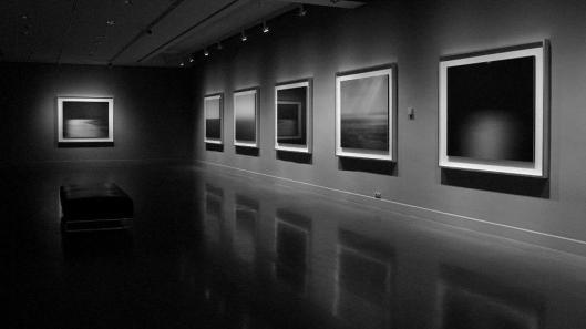Hiroshi Sugimoto Black Box exhibition view Fundación Mapfre Barcelona