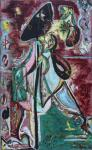 Jackson Pollock The Moon Woman 1942 Peggy Guggenheim Collection Venice