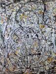 Jackson Pollock Watery Paths 1947 Galleria di Arte Moderna e Contemporanea GNAM Rome gift of Peggy Guggenheim