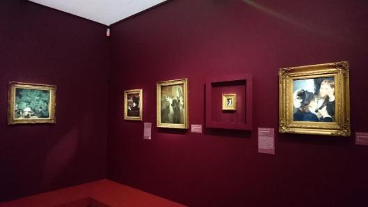 Scènes de la vie impressionniste exhibition view Musée des Beaux-Arts de Rouen Rouen artdone