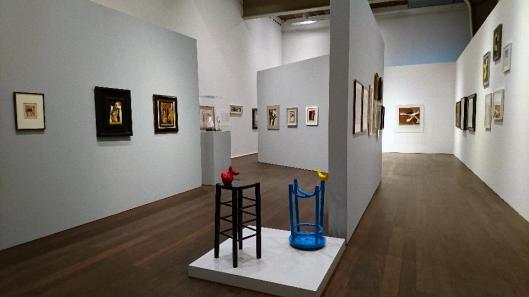Schwitters Miró Arp exhibition view Hauser & Wirth Zurich artdone