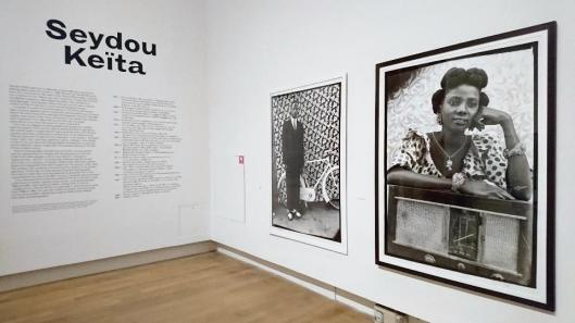 Seydou Keïta exhibition view Grand Palais Paris artdone