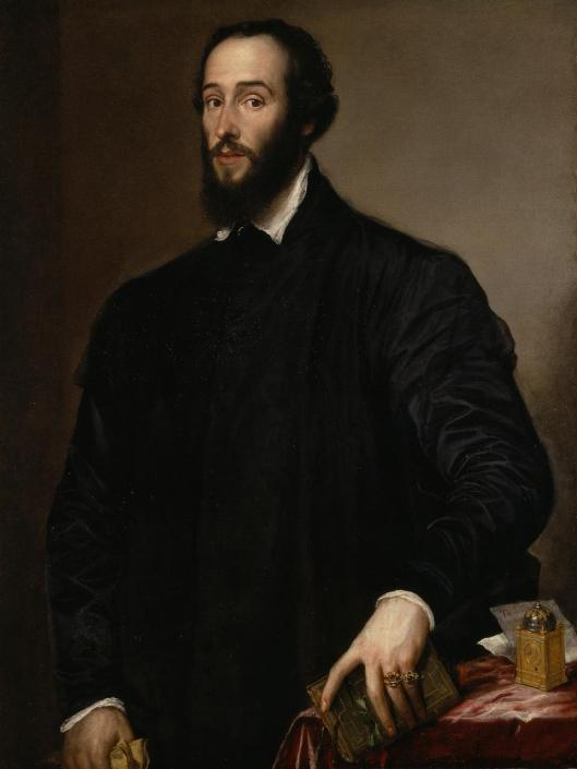 Tiziano Vecellio Titian Portrait of Antoine Perrenot de Granvelle 1548 Nelson-Atkins Museum of Art Kansas City