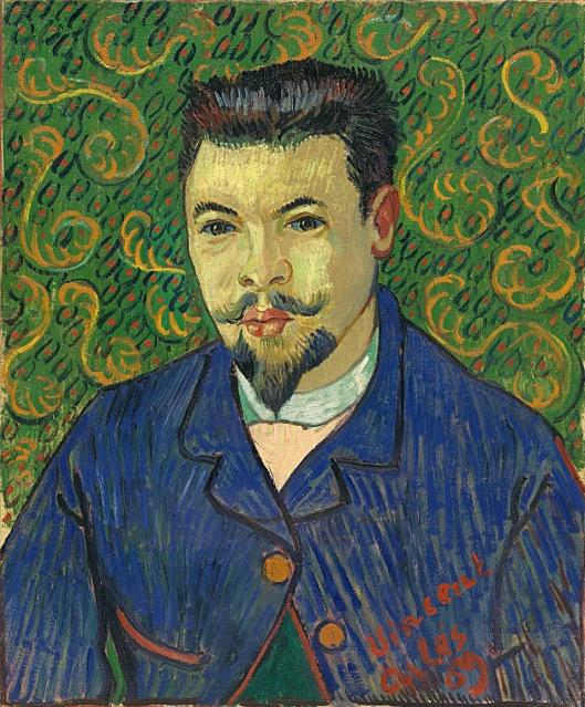 Vincent van Gogh Portrait of Dr Félix Rey January 1889 The State Pushkin Museum of Fine Arts Moscow'