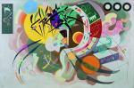 Wassily Kandinsky Dominant Curve (Courbe dominante) 1936 Solomon R. Guggenheim Museum New York