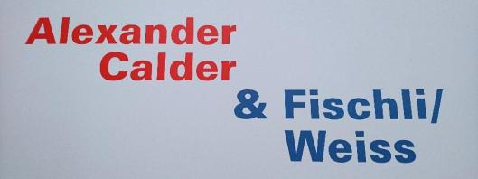 Alexander Calder Fischli Weiss Fondation Beyeler Basel artdone