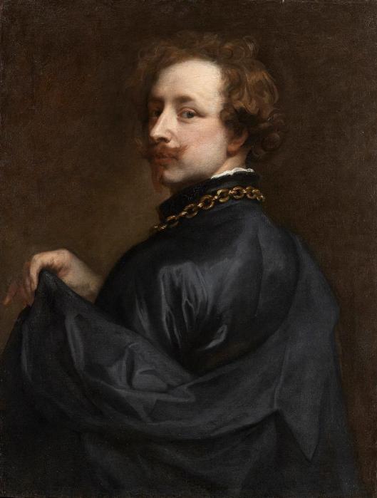 Anton van Dyck Self Portrait ca 1629 priv coll