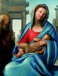 Bramantino Holy Family ca 1515 Fondazione Sorlini, Carzago di Calvagese della Riviera