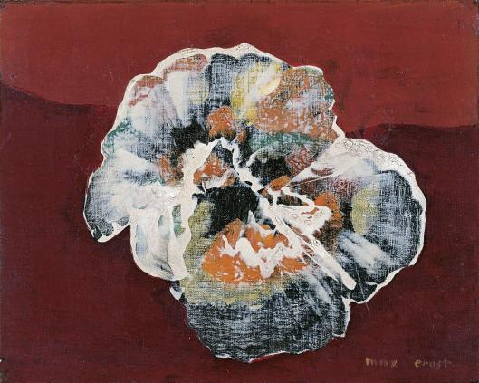Max Ernst Flower-Shell 1925 Museo Thyssen-Bornemisza Madrid