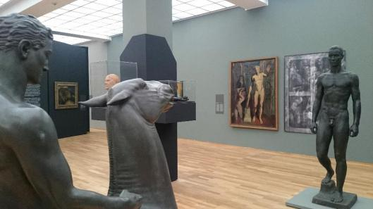 The Black Years Histories of a Collection 1933–1945 exhibition view Hamburger Bahnhof Berlin artdone