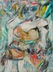 Willem De Kooning Woman II 1952 MoMA Museum of Modern Art New York