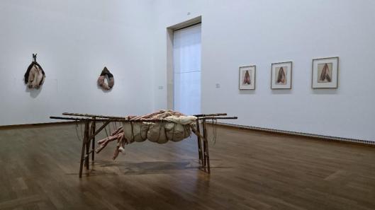 Berlinde De Bruyckere, exhibition view, Leopold Museum, Vienna, artdone