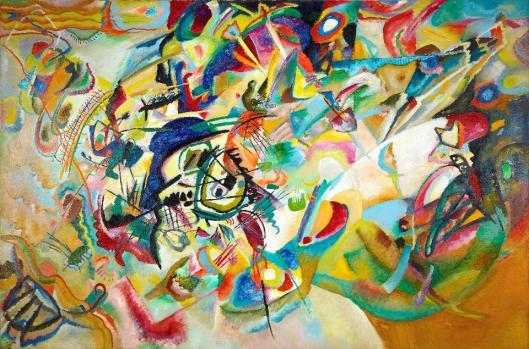 Wassily Kandinsky Komposition VII 1913 State Tretyakov Gallery Moscow
