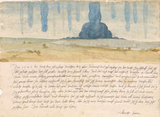 albrecht-durer-dream-vision-1525-watercolour-kunsthistorisches-museum-khm-vienna