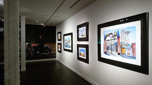 bob-dylan-the-beaten-path-exhibition-view-halcyon-gallery-london-artdone