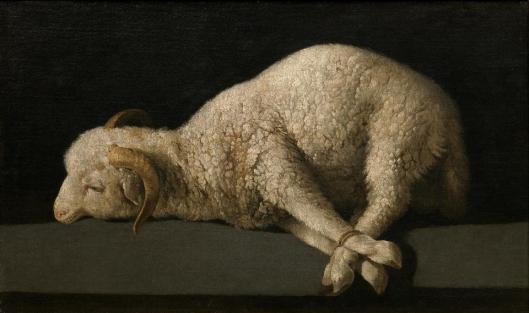 francisco-de-zurbaran-agnus-dei-1635-40-prado-madrid