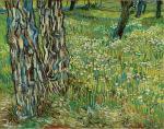 vincent-van-gogh-tree-trunks-in-the-grass-1890-kroller-muller-museum-otterlo