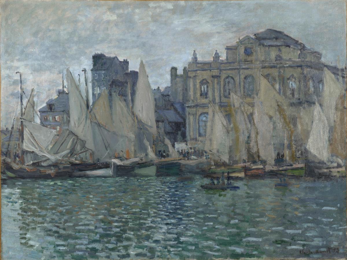 Architektoniczny Claude Monet III | artdone
